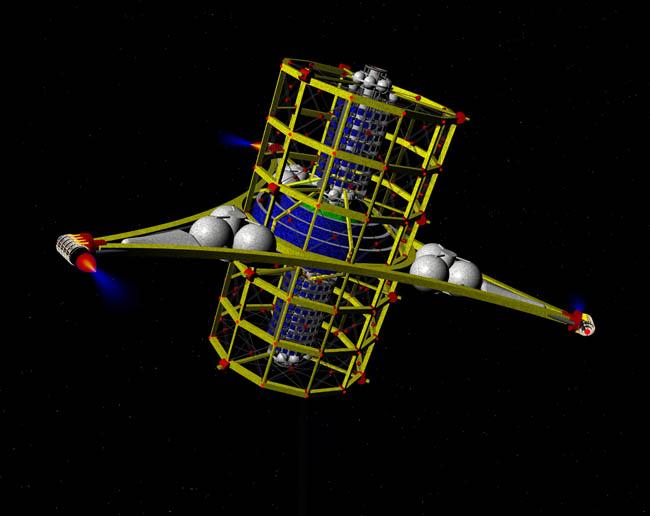 Space Settlement Art Contest Dan Thole Jump Start Halo