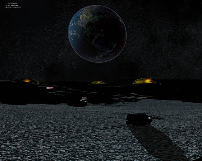 Space Settlement Art Contest: Tycho Settlement