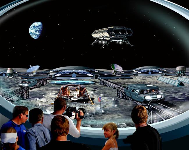Space Settlement Art Contest: Tranquility Base Memorial Center