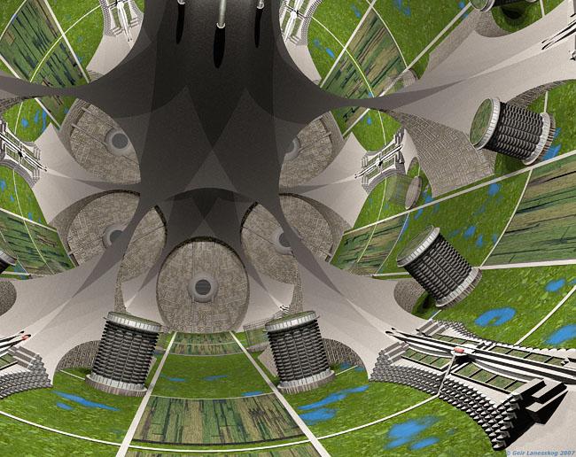 Space Settlement Art Contest: Utopia One