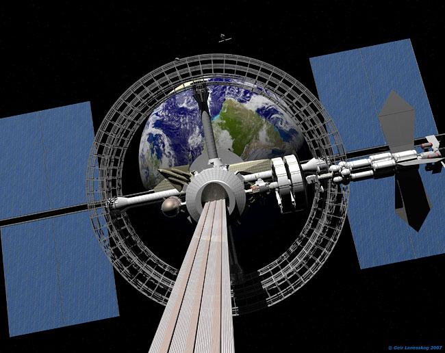Space Settlement Art Contest: Vertigo