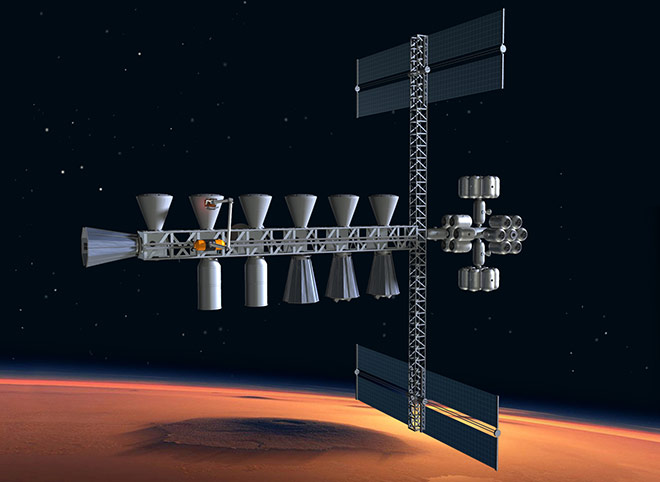 Space Settlement Milestone Mars Way Station