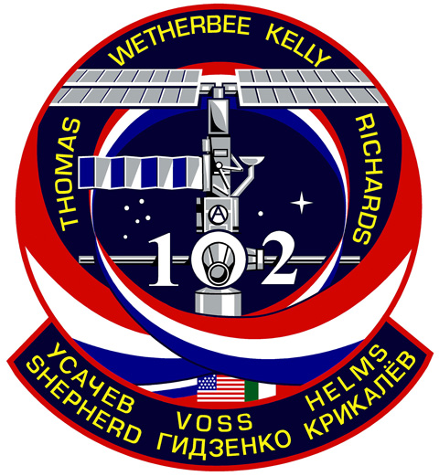 STS 102 Patch