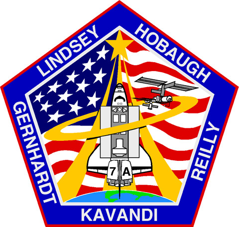 STS 104 Patch