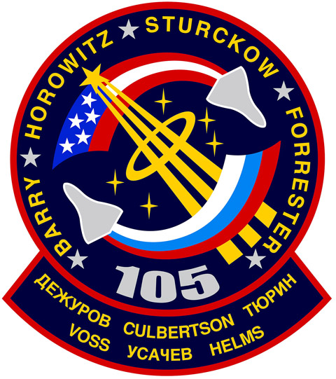 STS 105 Patch