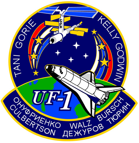 STS 108 Patch