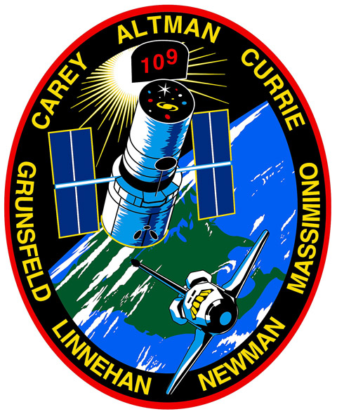 STS 109 Patch