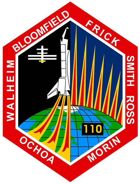 STS 110 Patch