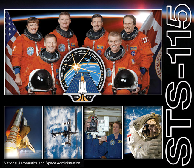STS 115 Poster