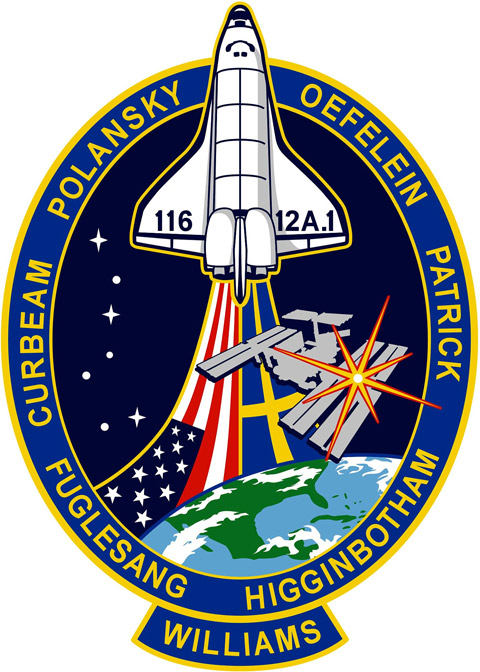 STS 116 Patch