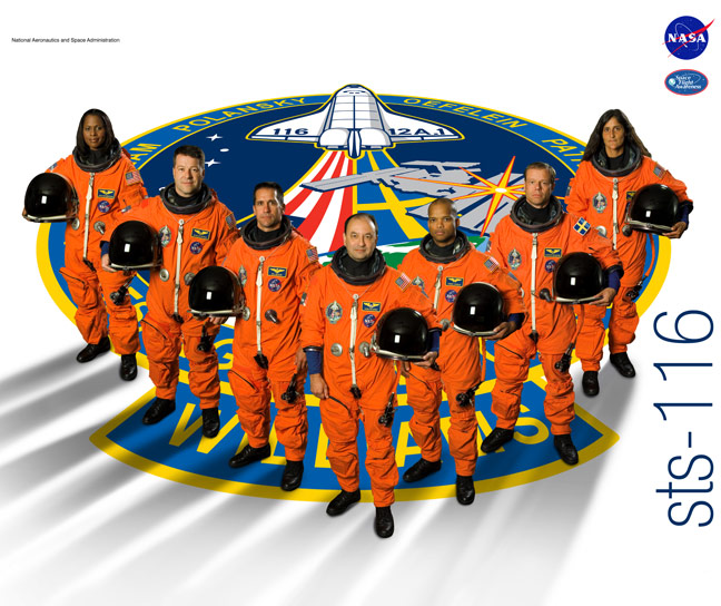 STS 116 Poster
