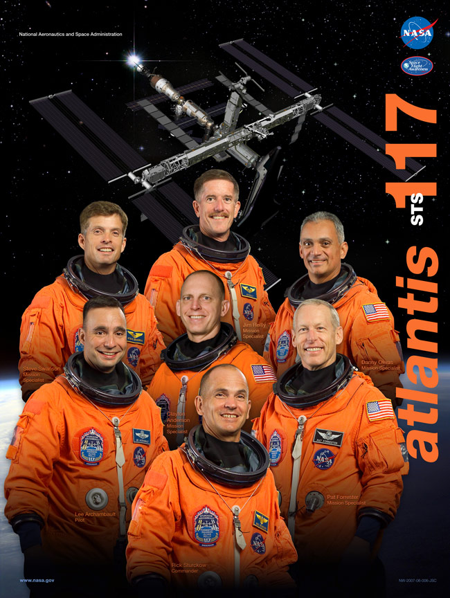 STS 117 Poster
