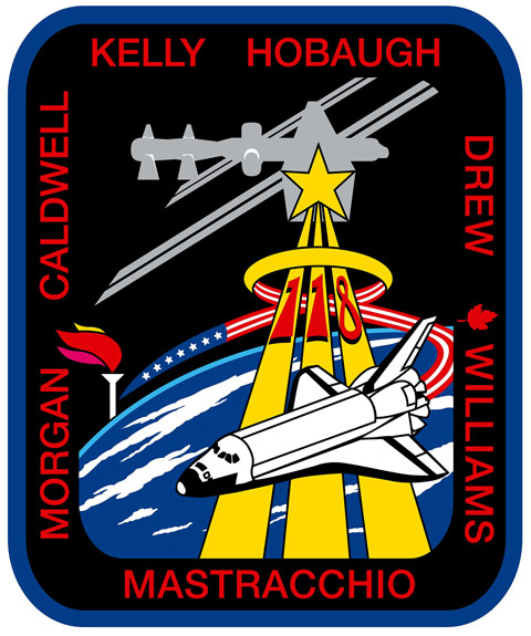 STS 118 Patch