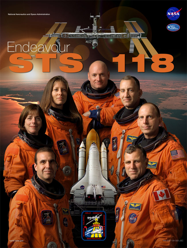 STS 118 Poster