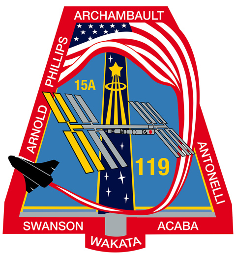 STS 119 Patch