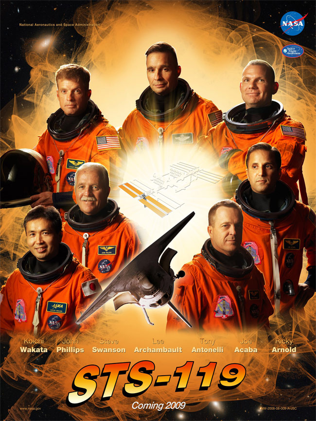 STS 119 Poster