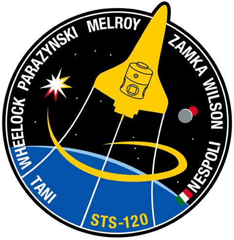 STS 120 Patch