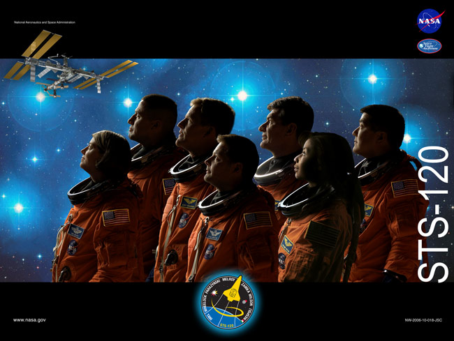 STS 120 Poster