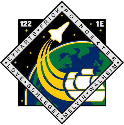 STS 122 Patch