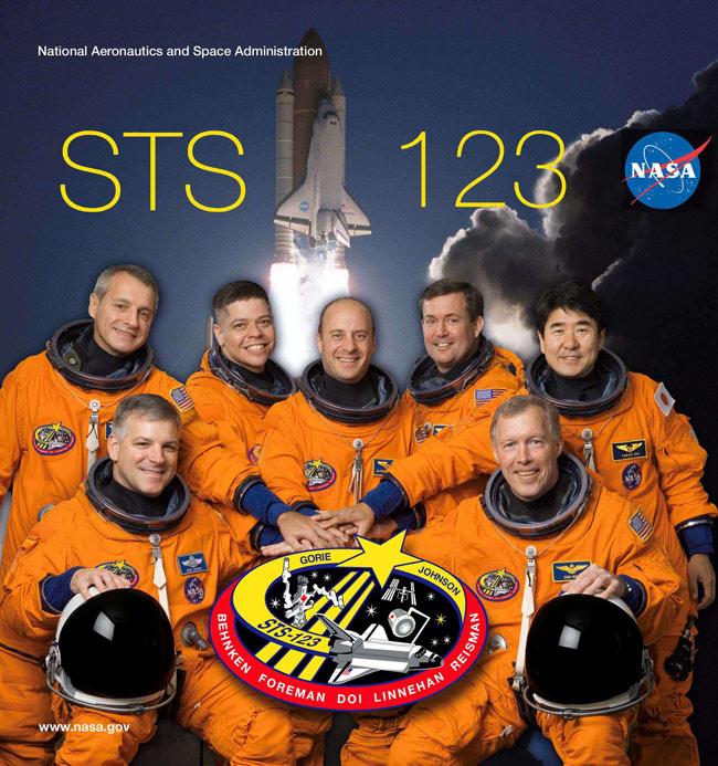 STS 123 Crew