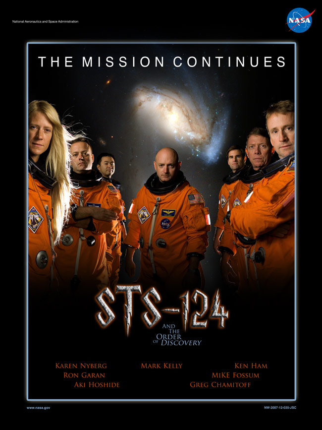 STS 124 Poster