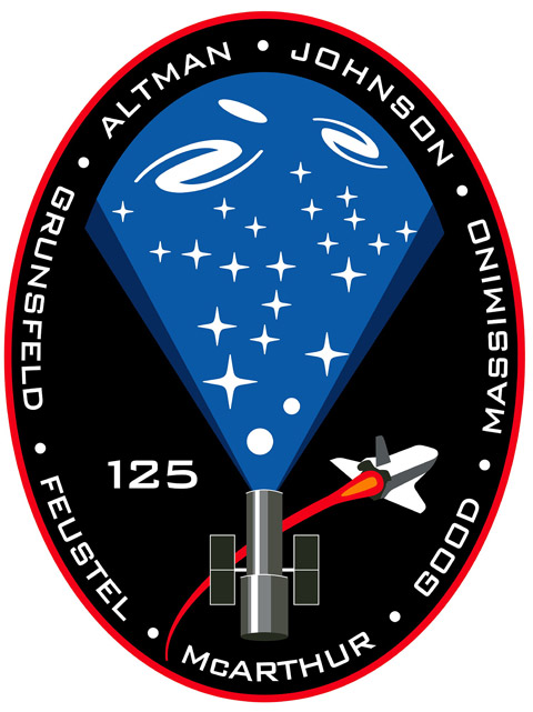 STS 125 Patch