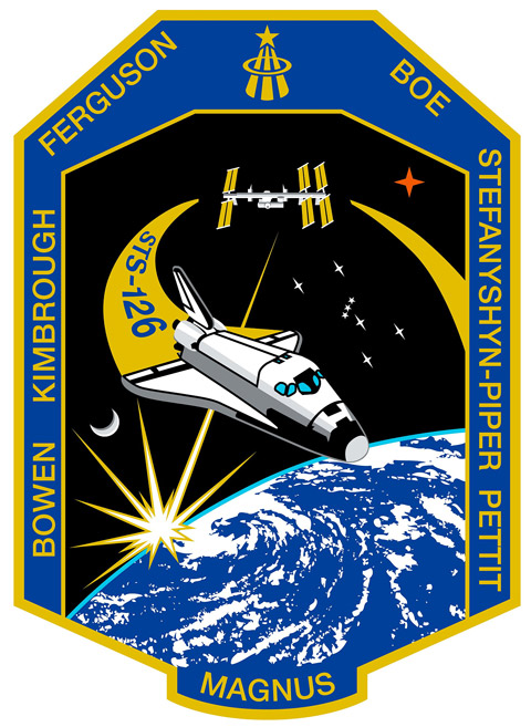 STS 126 Patch