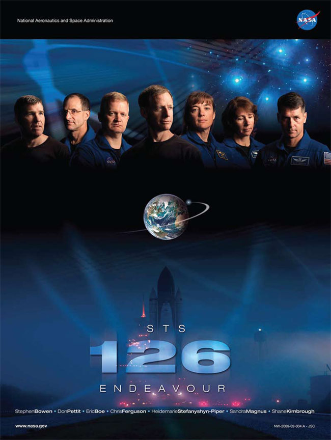 STS 126 Poster