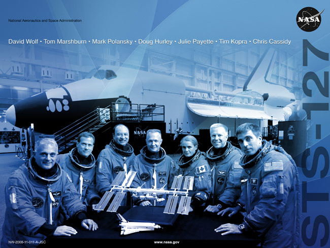 STS 127 Poster