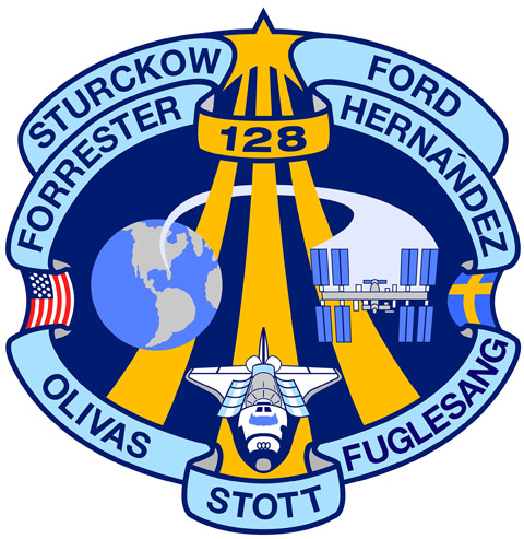 STS 128 Patch