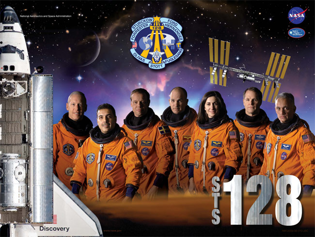 STS 128 Poster