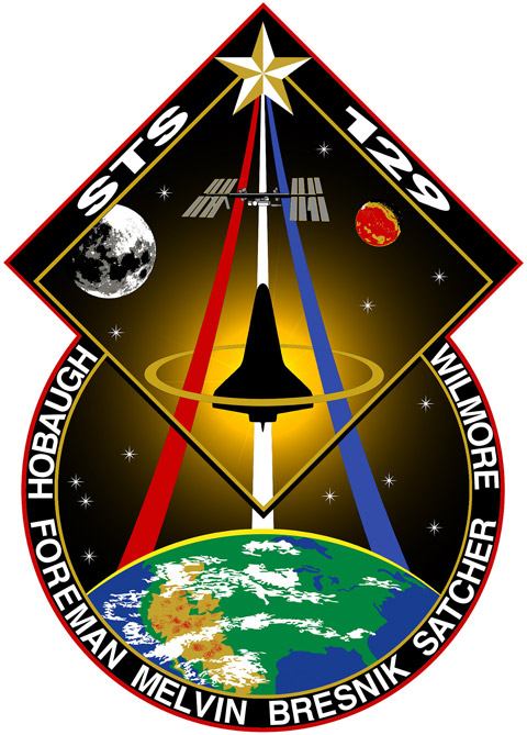 STS 129 Patch