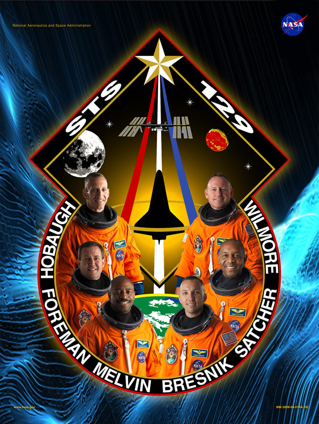 STS 129 Poster