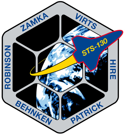 STS 130 Patch