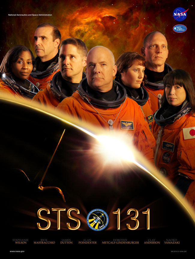 STS 131 Poster