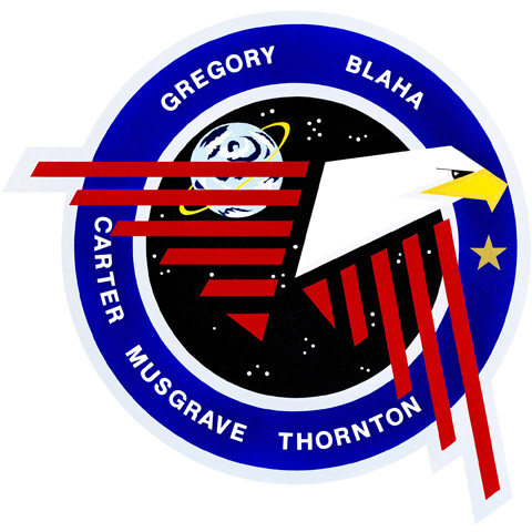 STS 33 Patch