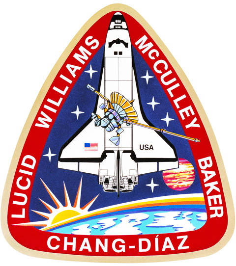 STS 34 Patch