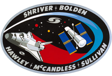 STS 35 Patch