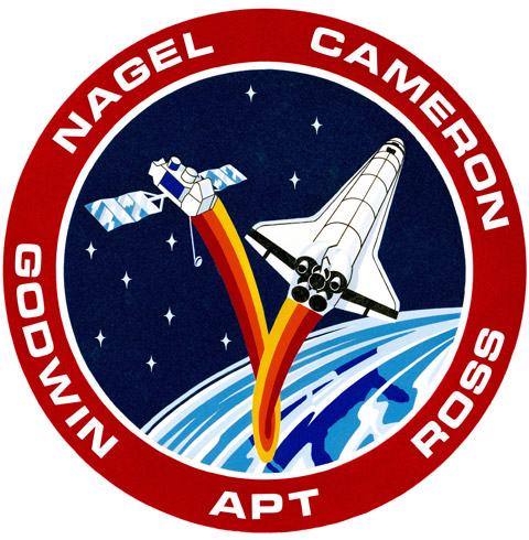 STS 37 Patch