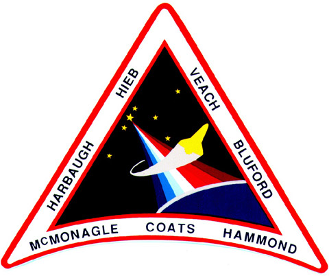 STS 39 Patch