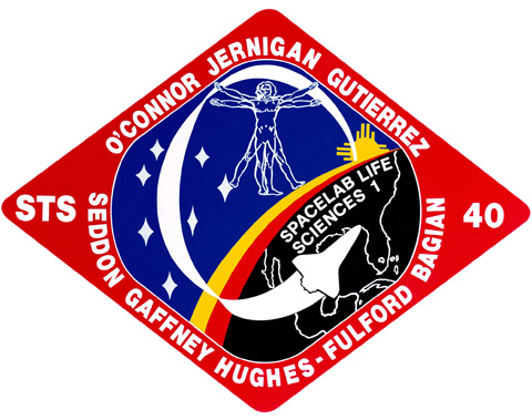 STS 40 Patch