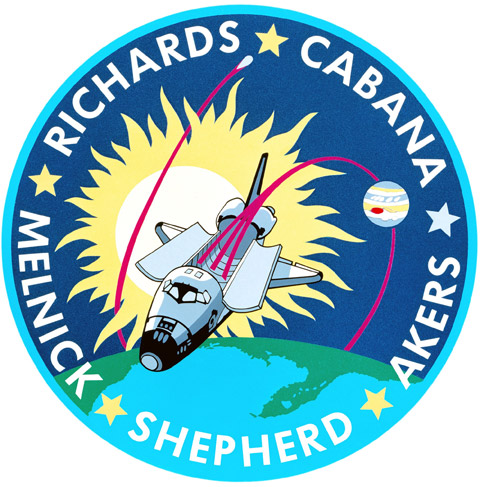 STS 41 Patch