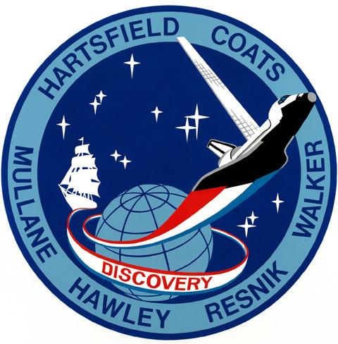STS 41D Patch
