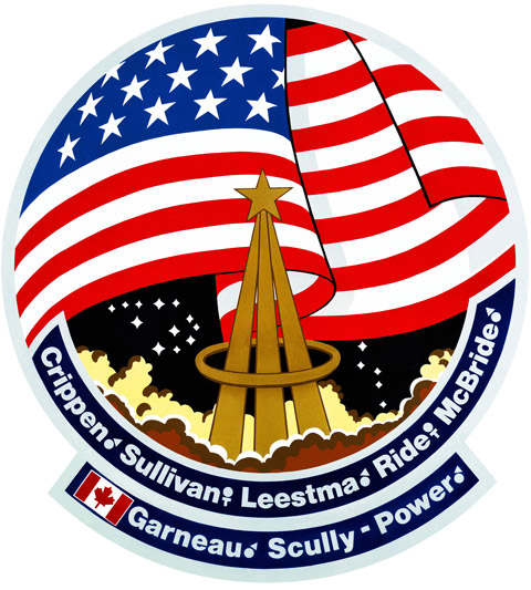 STS 41G Patch