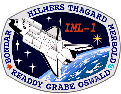 STS 42 Patch