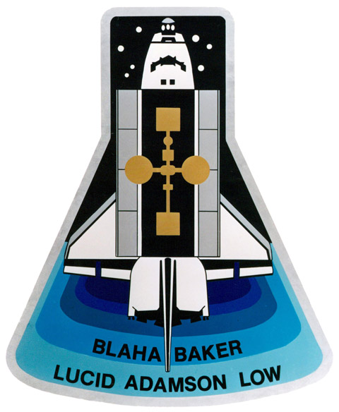 STS 43 Patch