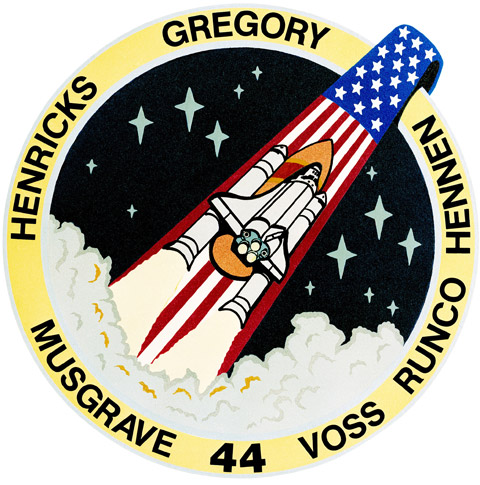 STS 44 Patch