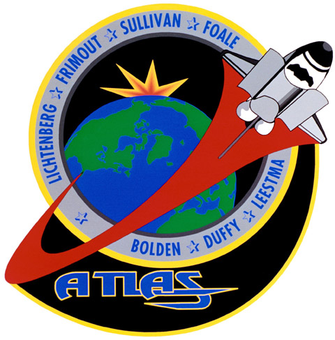 STS 45 Patch