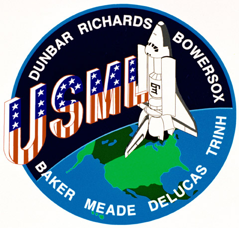 STS 50 Patch