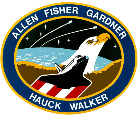STS 51A Patch
